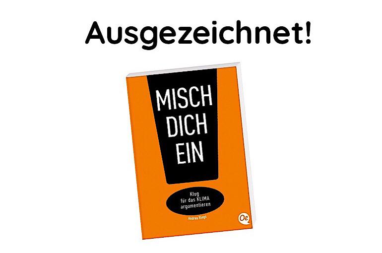 Klimadiskussions-Buch für Jugendliche ausgezeichnet