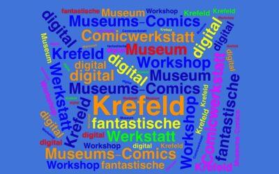 Digitale Comic-Werkstatt im Kaiser Wilhelm Museum in Krefeld