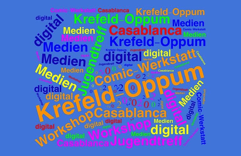Comic Workshop 2.0 im Jugendtreff Casablanca in Krefeld-Oppum