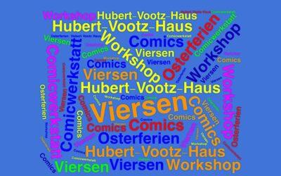 Comic-Schreibwerkstatt im Hubert-Vootz-Haus in Viersen