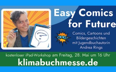 Easy Comics for Future – So war mein erster Online-Workshop