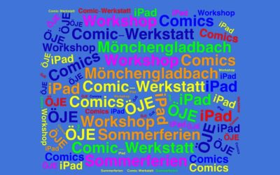 Comic-Schreibwerkstatt in der Kontaktstelle SKY in Mönchengladbach