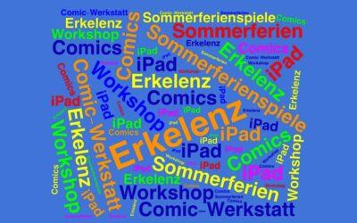 iPad Comic-Werkstatt bei den Sommerferienspielen Erkelenz
